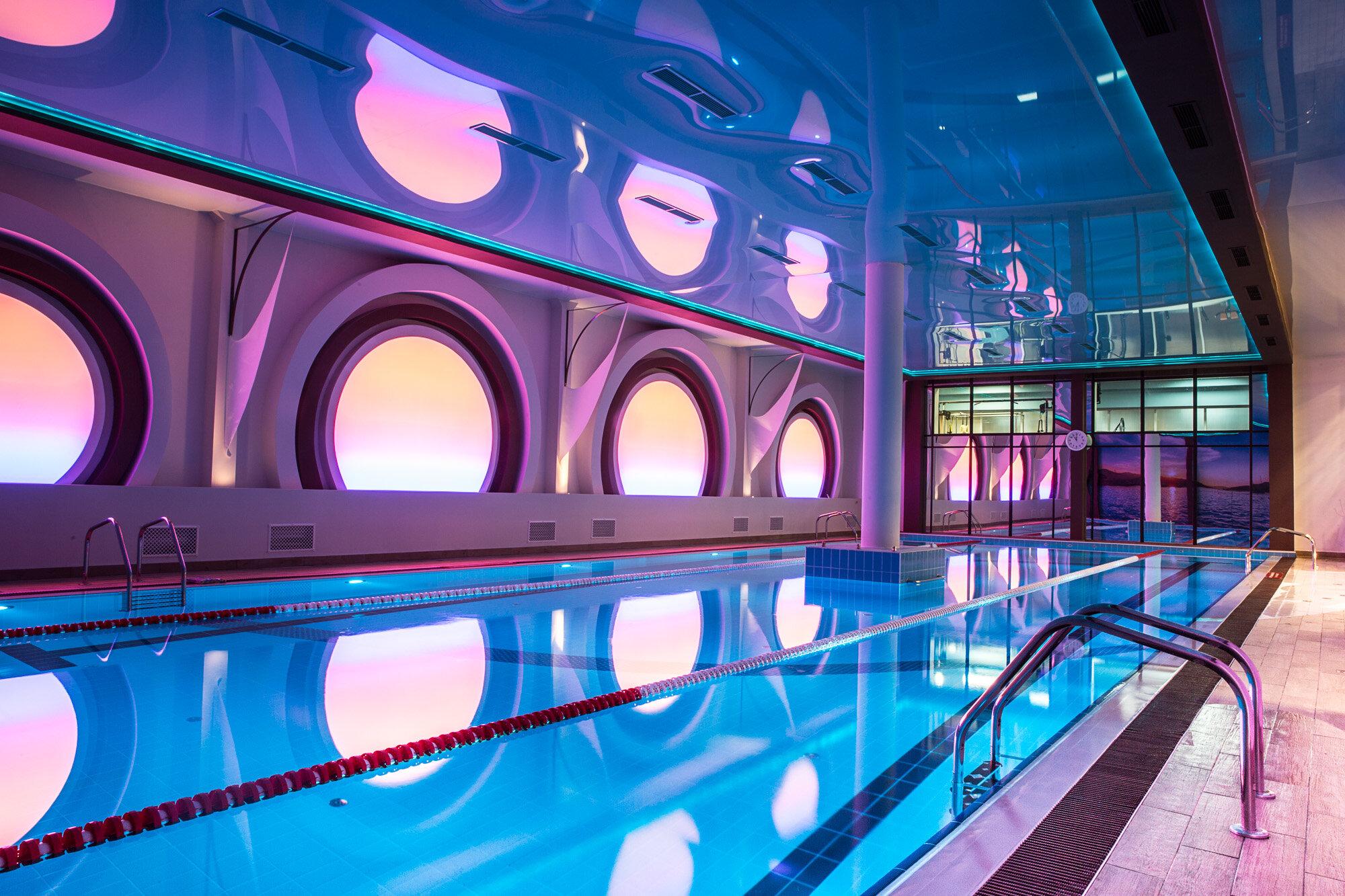 Фитнес клубы с бассейном в москве юге клуб цветоводы москвы заказы