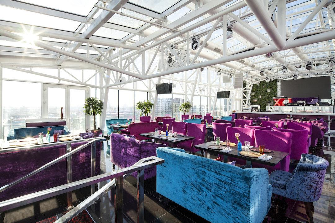 фотография Панорамного ресторана Extra Lounge в гостиничном комплексе Korston Hotel Moscow