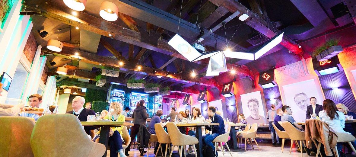 Фотогалерея - Гаджет-ресторан GADGET STUDIO на Тверской улице
