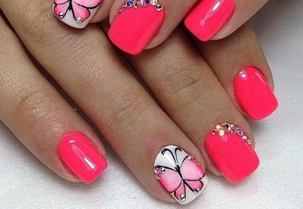 Дизайн с бабочками фото