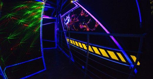 фотография Лазертаг-арены Club Space на улице 70 лет Октября