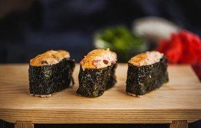 фотография Запеченные суши