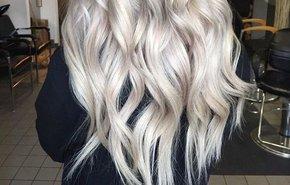 фотография Окрашивание длинных волос
