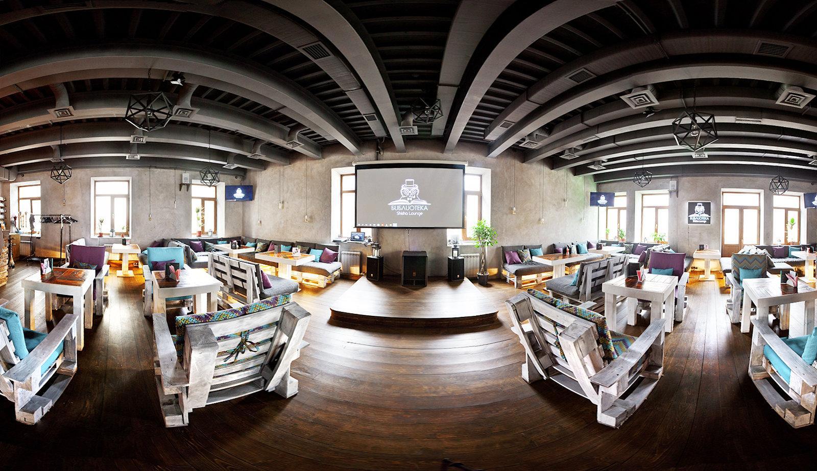 фотография Кальянная лаундж-кафе БИБЛИОТЕКА Shisha Lounge на Арбате