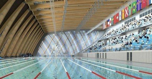 фотография Дворец водных видов спорта на метро Козья Слобода