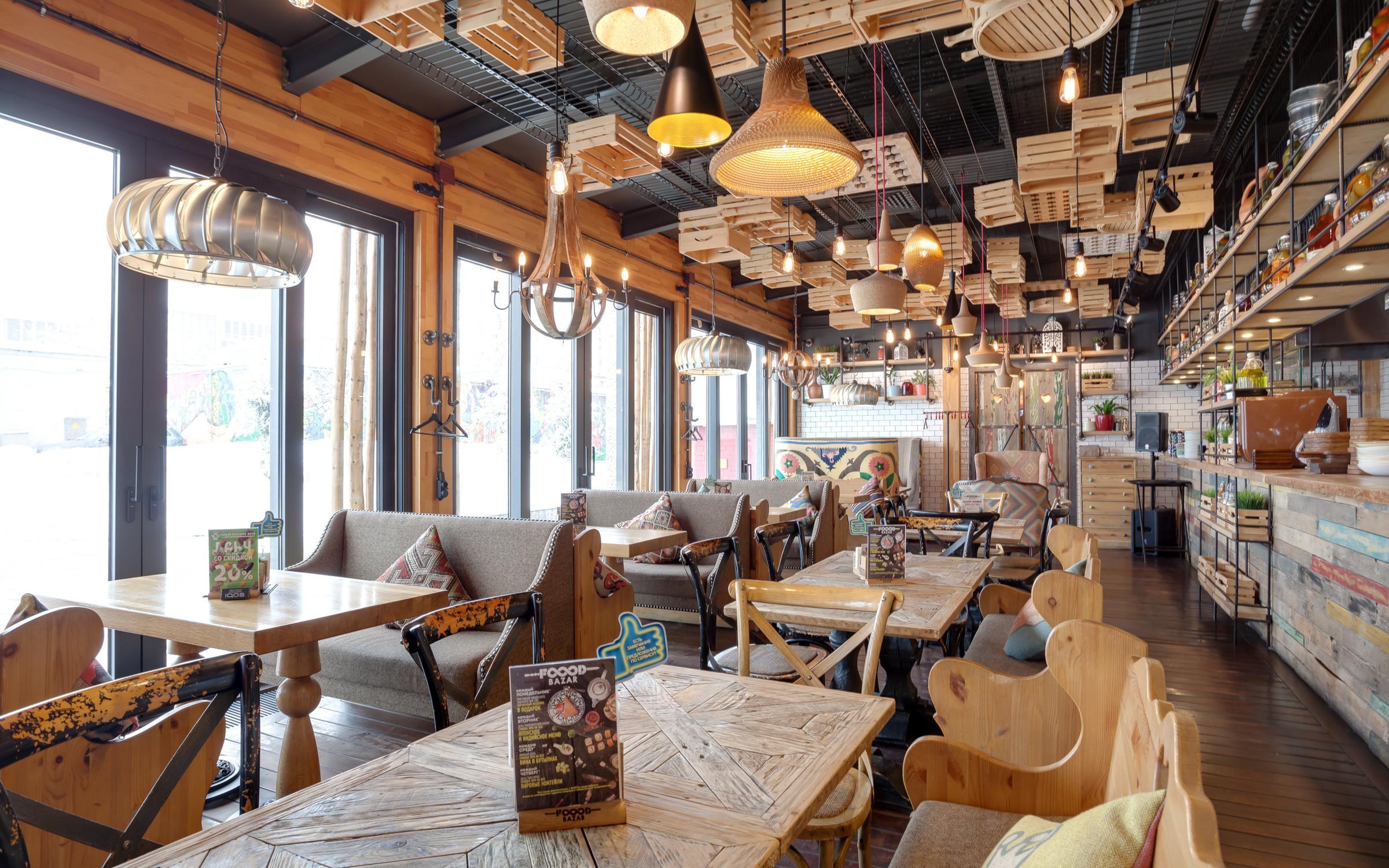 фотография Мультибрендового ресторана FOOOD BAZAR на улице Каретный Ряд