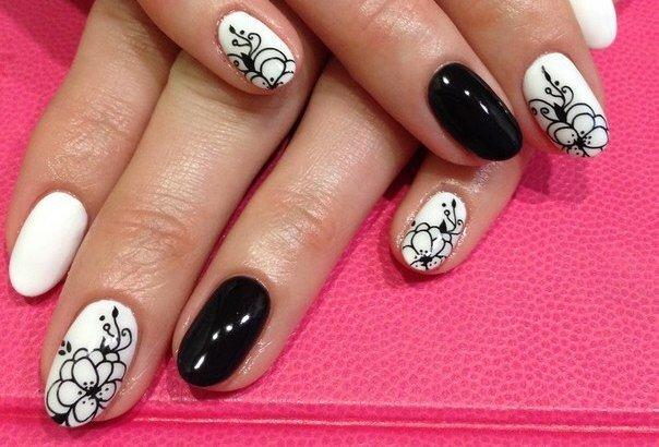 Фото ногтей шеллак с дизайном новинки