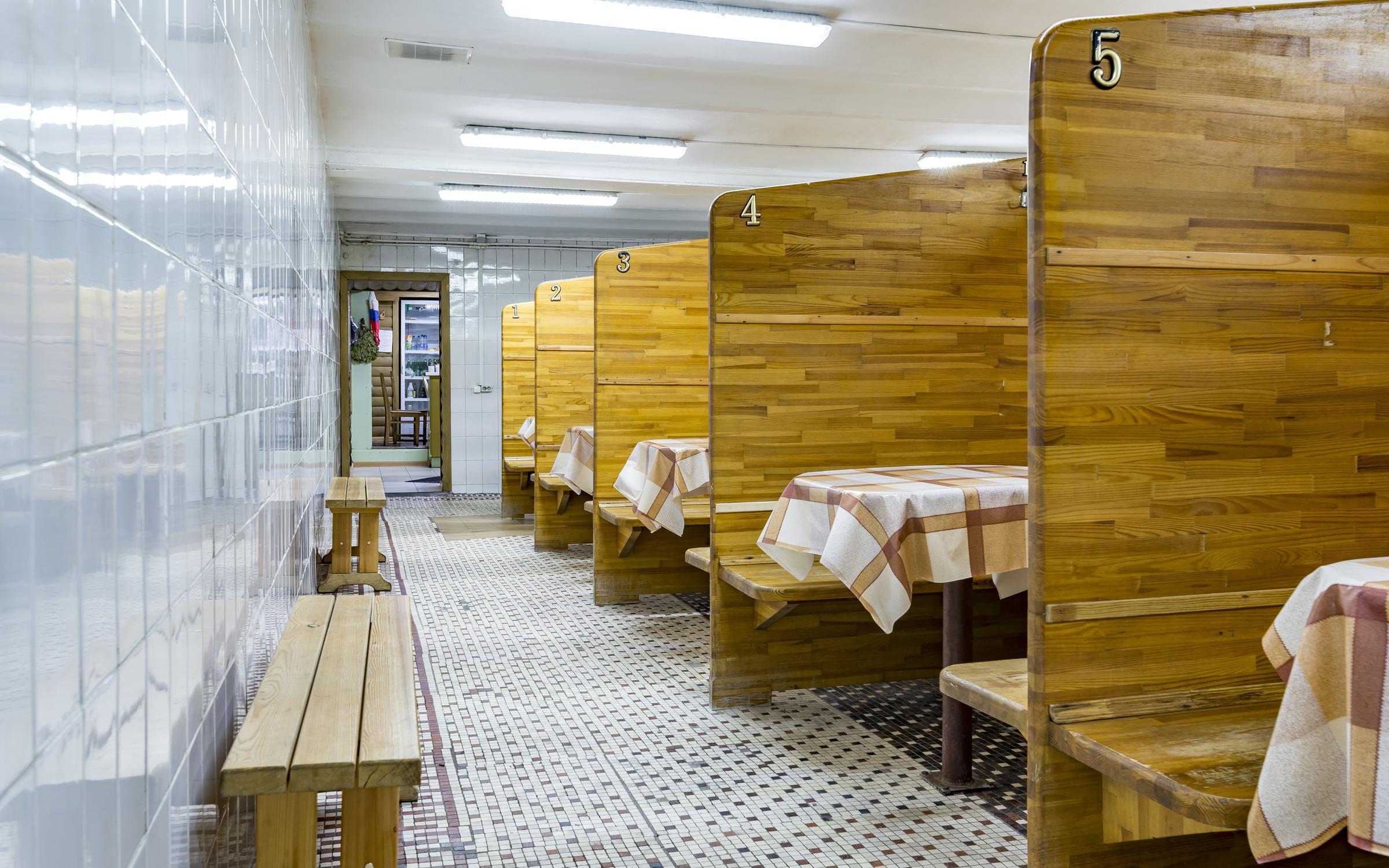 фотография Русские бани на улице Текстильщиков