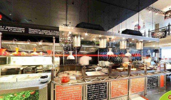 фотография Сеть ресторанов домашней еды Грабли в ТЦ Тульский