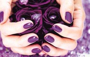 фотография Полировка ногтей на руках