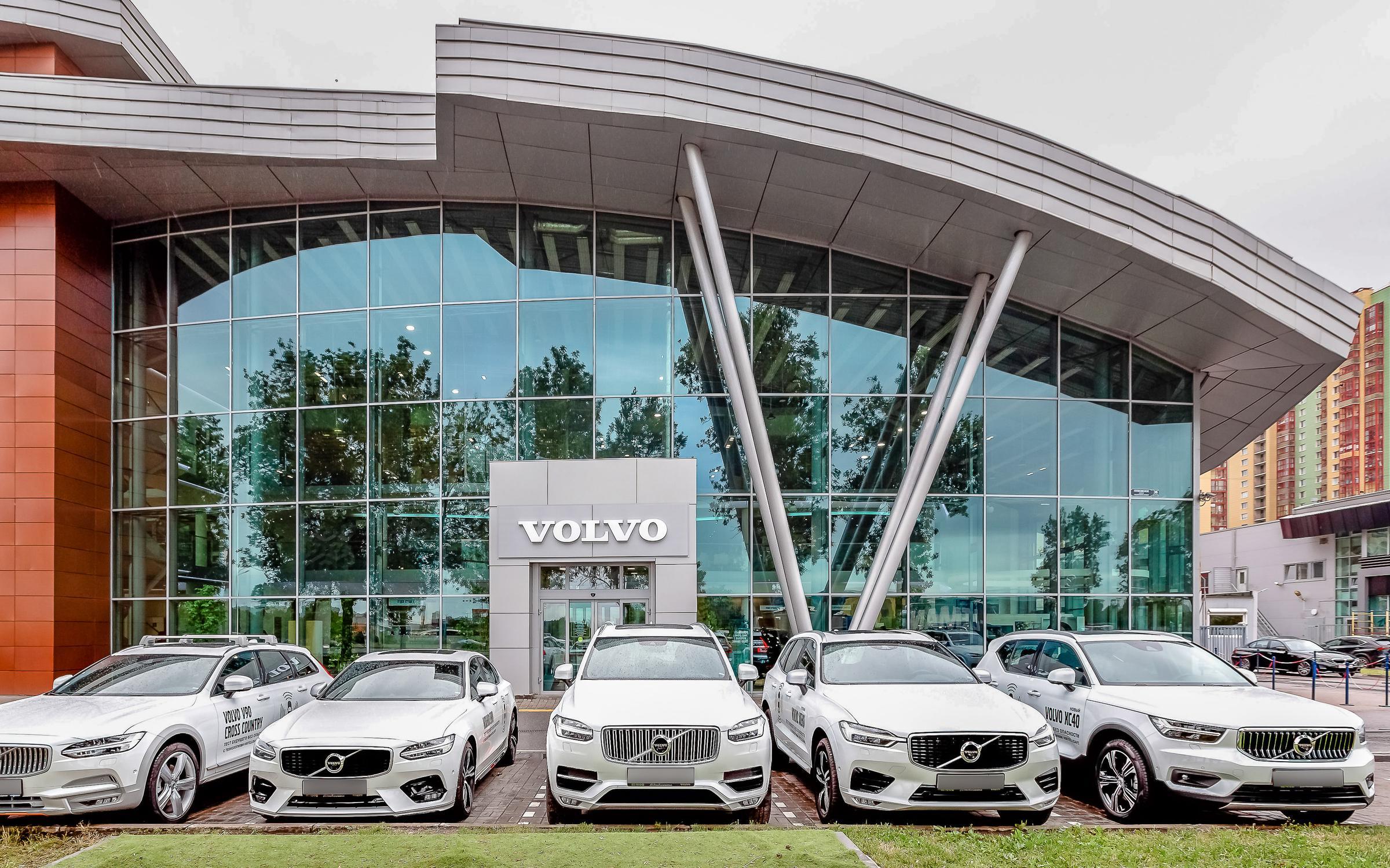 фотография Официального дилера Volvo Автобиография на Пулковском шоссе