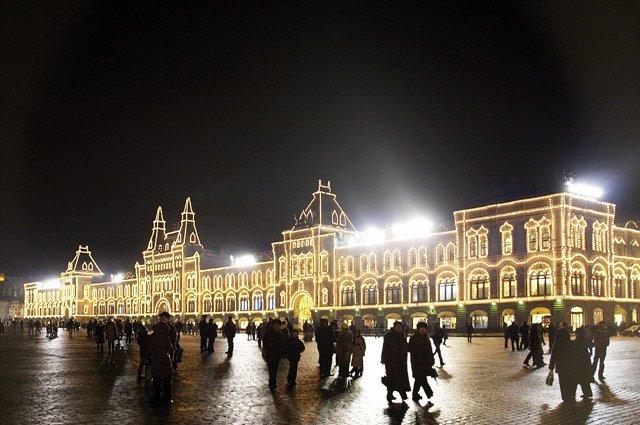 фотография ТЦ ГУМ Москва на Красной площади