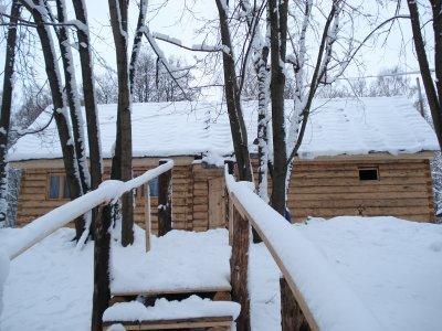Фотогалерея - Баня на дровах На берегу