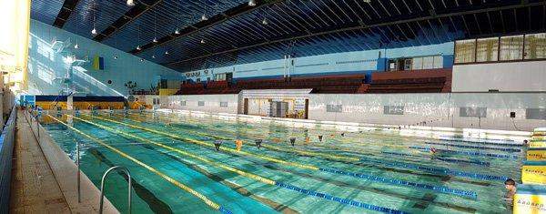 фотография Бассейн дворца подводного плавания