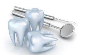 фотография Снятие зубных отложений механическое