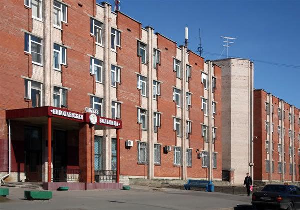 фотография Николаевская больница в Петергофе на Константиновской улице