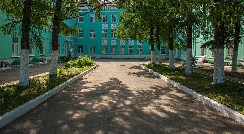 фотография Отделенческой больницы на ст. Рыбное