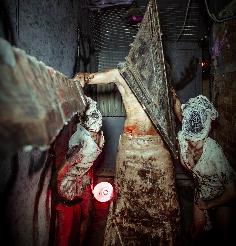 """фотография Квеста """"Silent Hill"""" на Варшавском шоссе, 33 стр 13"""