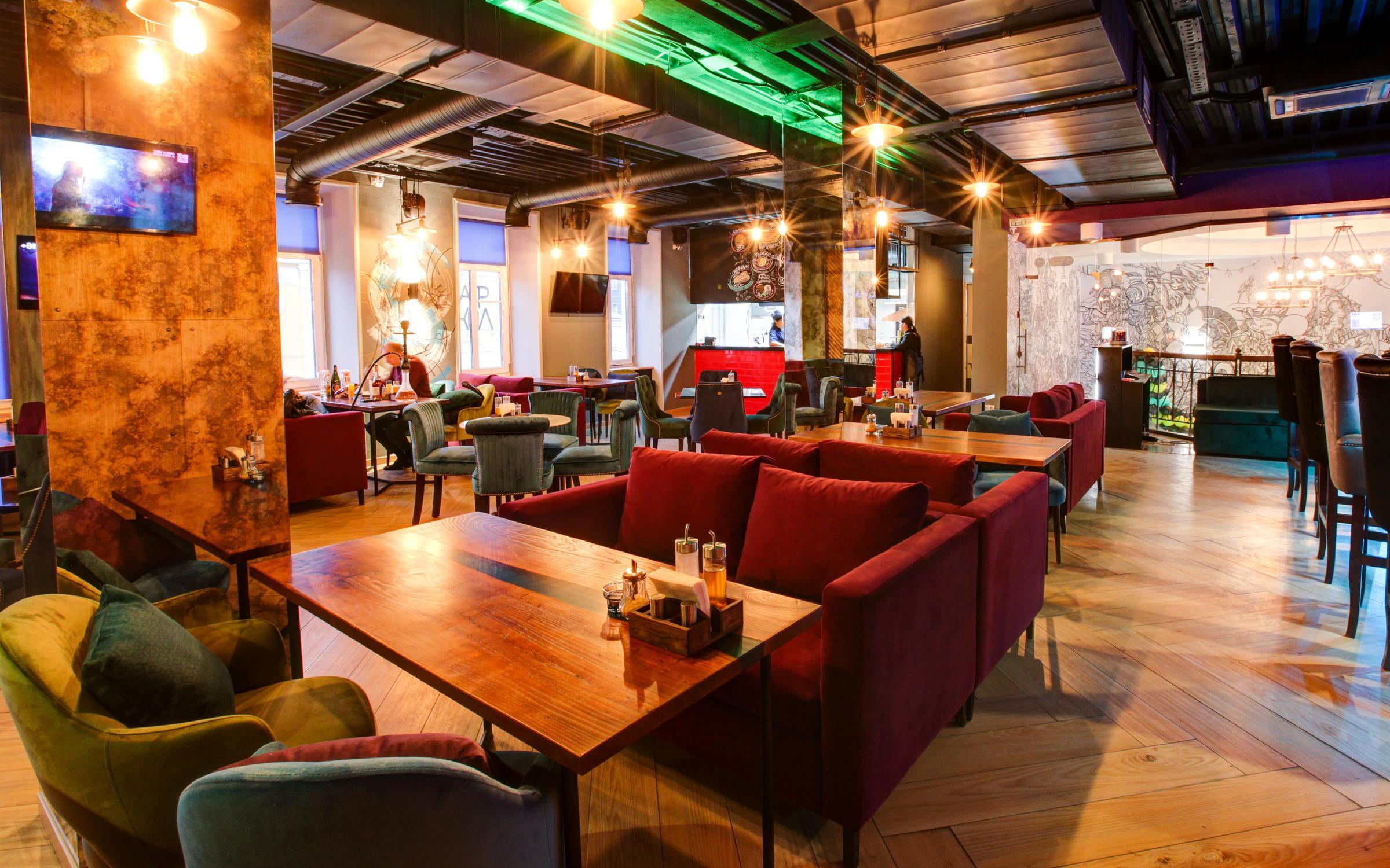 фотография Кальян-бара Nexus Cyber Lounge на Спартаковской улице