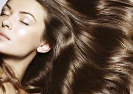 фотография Химическая завивка по длине волос