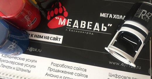 фотография Компании Мега Холдинг Медведь на улице Маршала Борзова