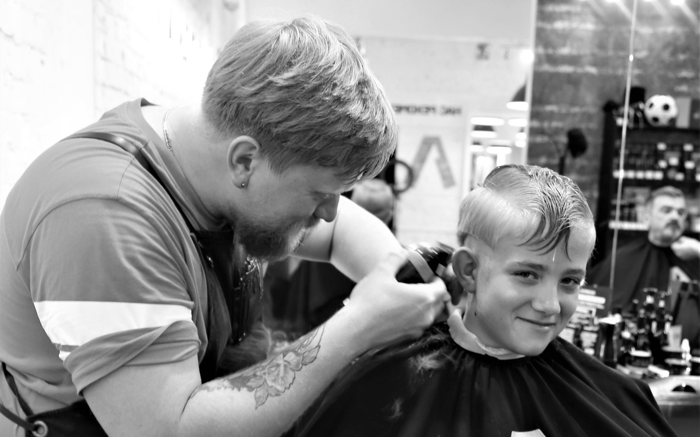фотография Мужской парикмахерской Аляска на метро Тульская