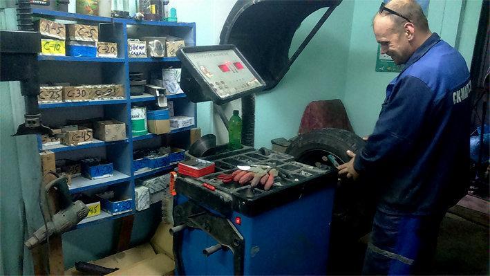 фотография Шиномонтажной мастерской Колесо-ЕК в Орджоникидзевском районе