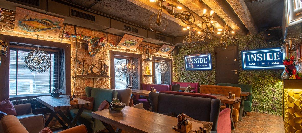 Фотогалерея - Лаундж-бар Inside на улице Правды
