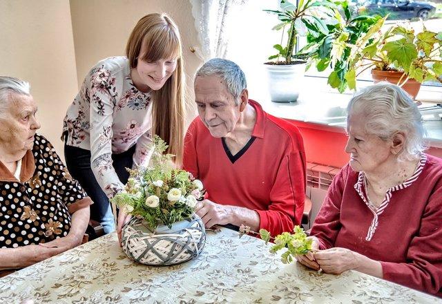 Пансионат для пожилых людей в санкт петербурге работа в доме престарелых казань