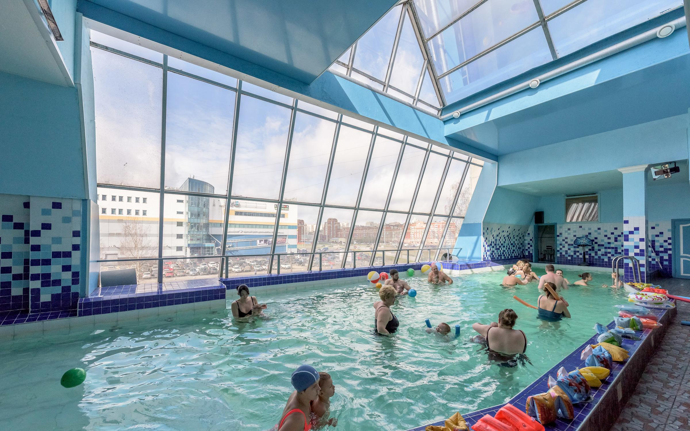 фотография Водно-развлекательного комплекса Комендантские бани на Байконурской улице