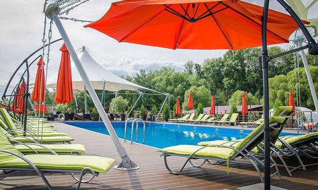 Фотогалерея - Пляж-бассейн на воде Panton в парке Северное Тушино
