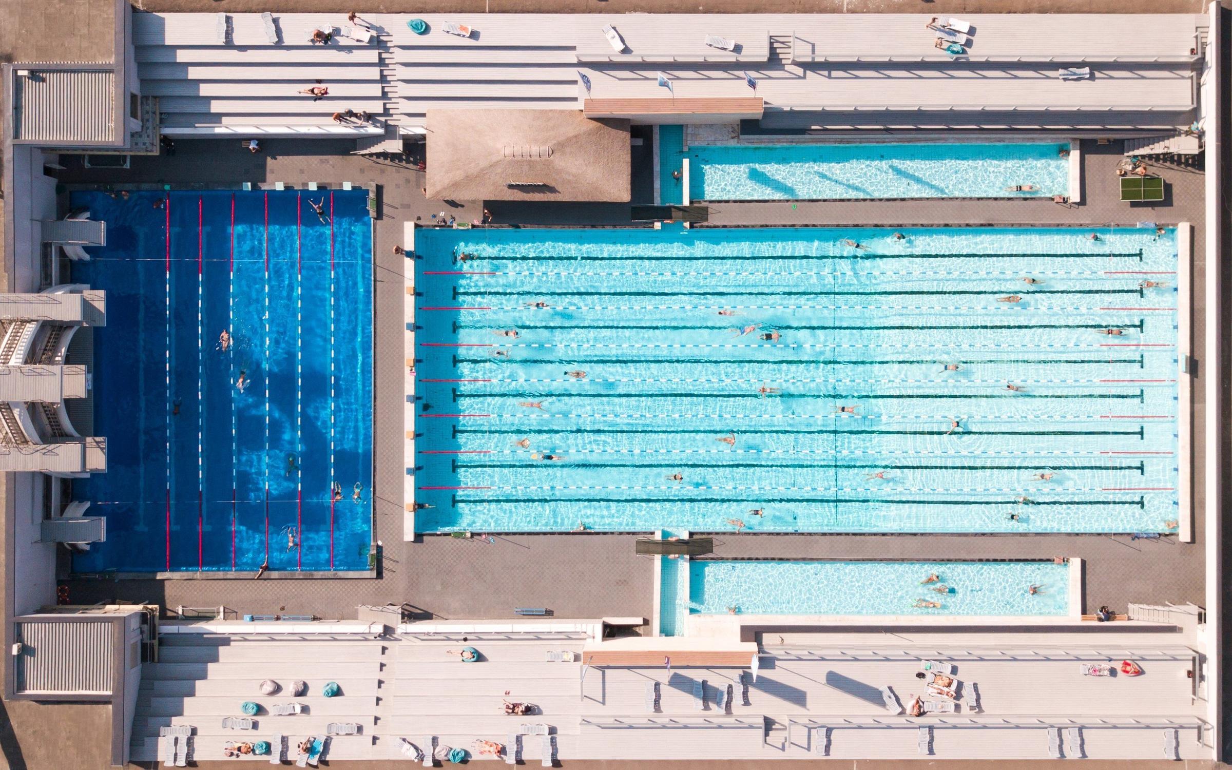 фотография Бассейна под открытым небом Чайка на метро Парк культуры