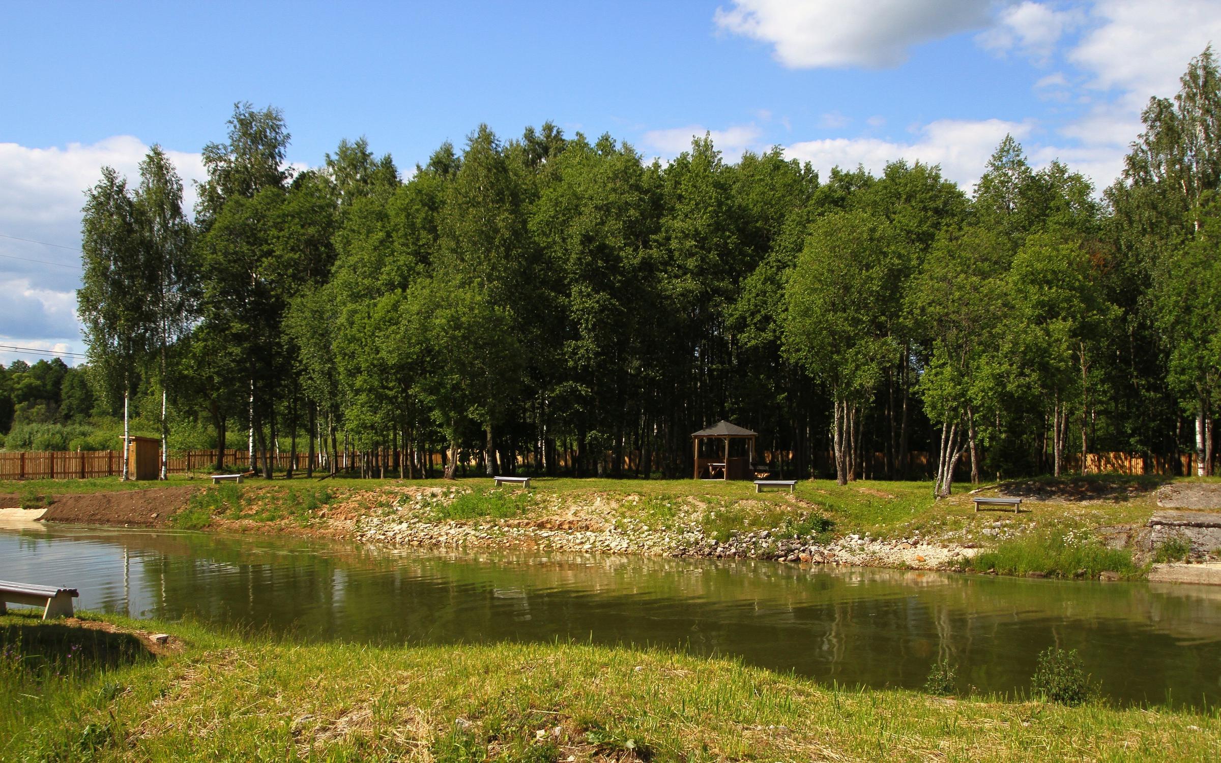 фотография Базы отдыха Раёк на берегу Глазовского водохранилища