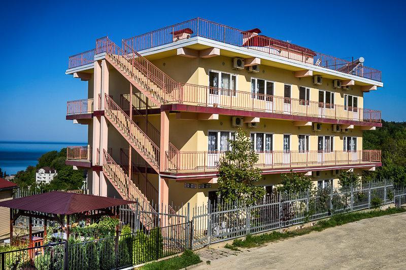 фотография Семейный отель Мария в микрорайоне Лазаревское