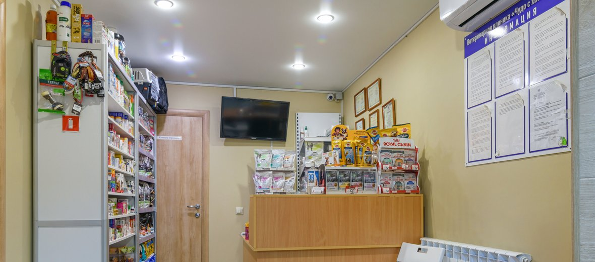 Фотогалерея - Ветеринарная клиника Чудо с хвостиком в Кировском административном округе