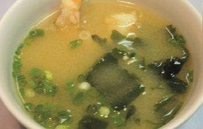 фотография Мисо суп с креветкой