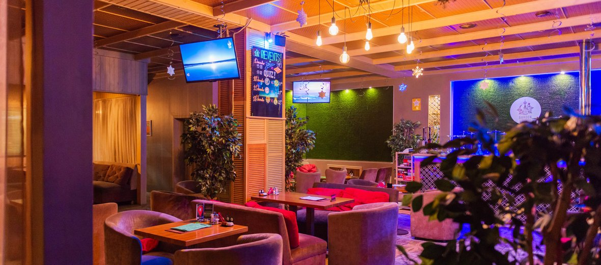 Фотогалерея - Кальянная Garden Lounge на Попутной улице
