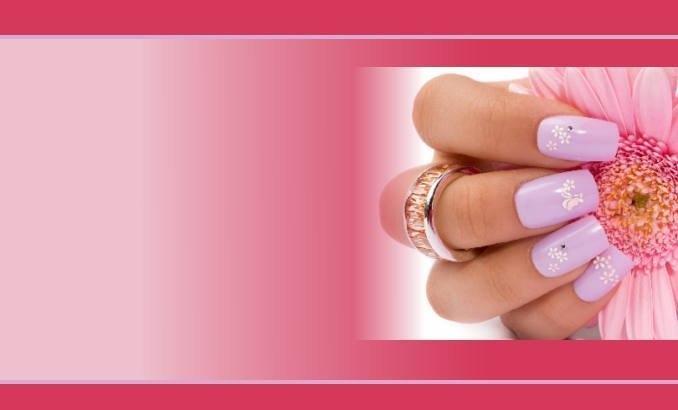 Визитки ногти
