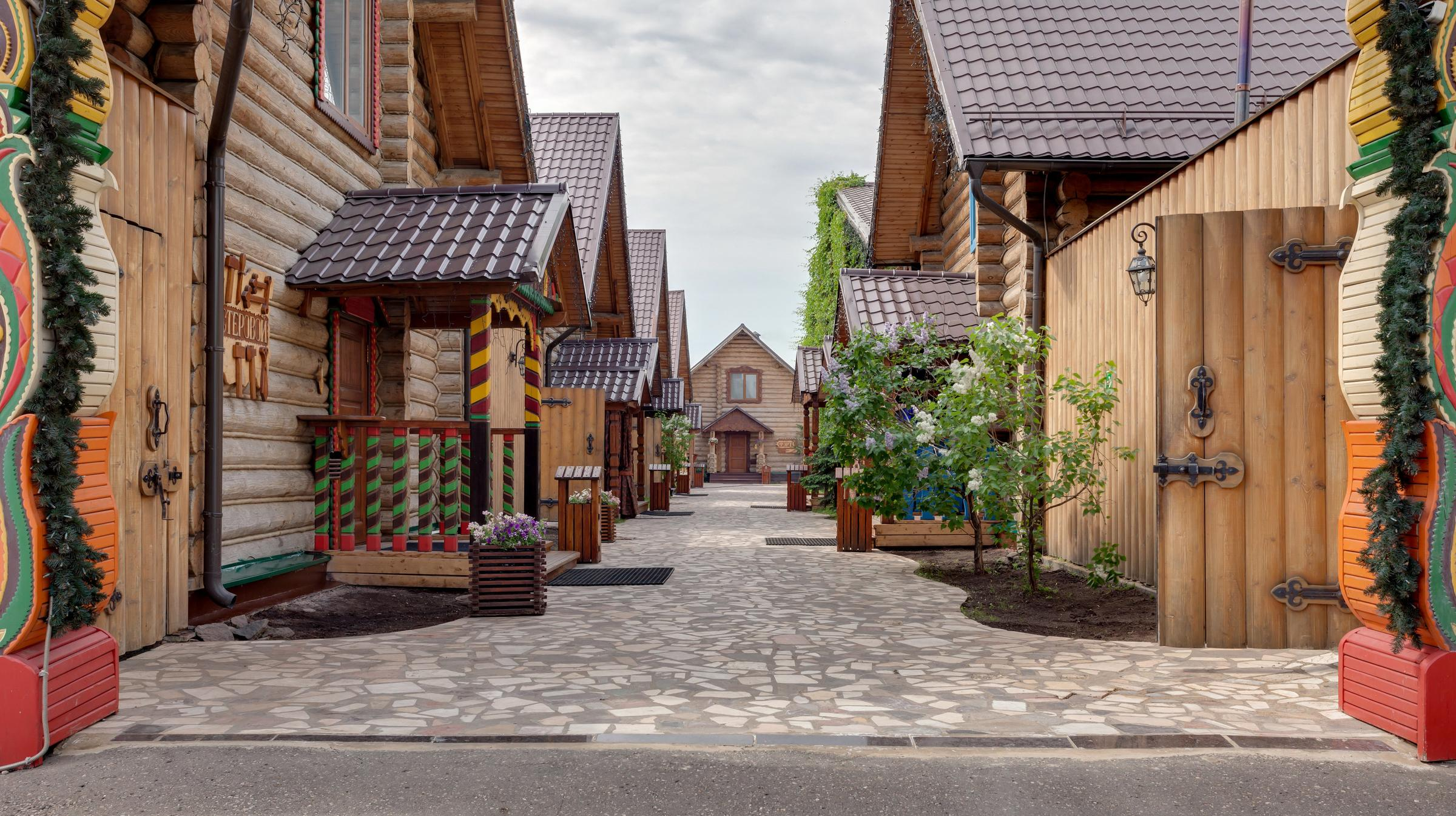 фотография Банный двор на Очаковском шоссе