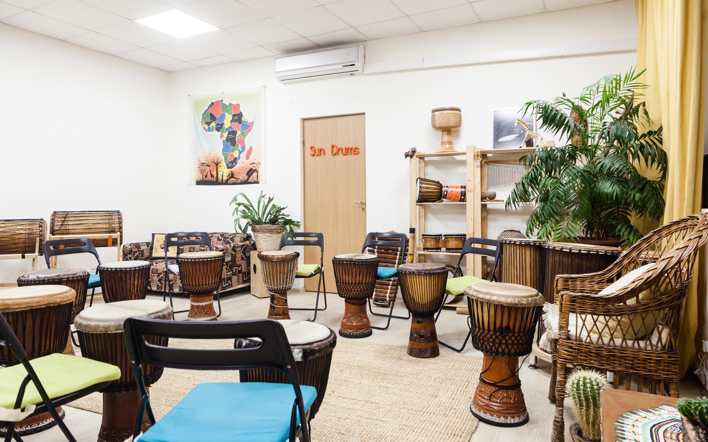 фотография Школы африканских барабанов Sun Drums