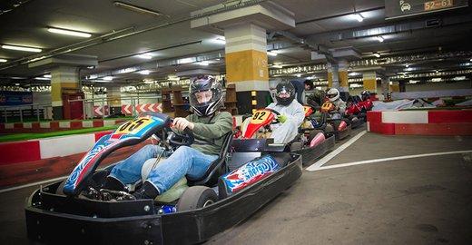 фотография Картинг-центра FORZA karting VEGAS в ТРК Vegas