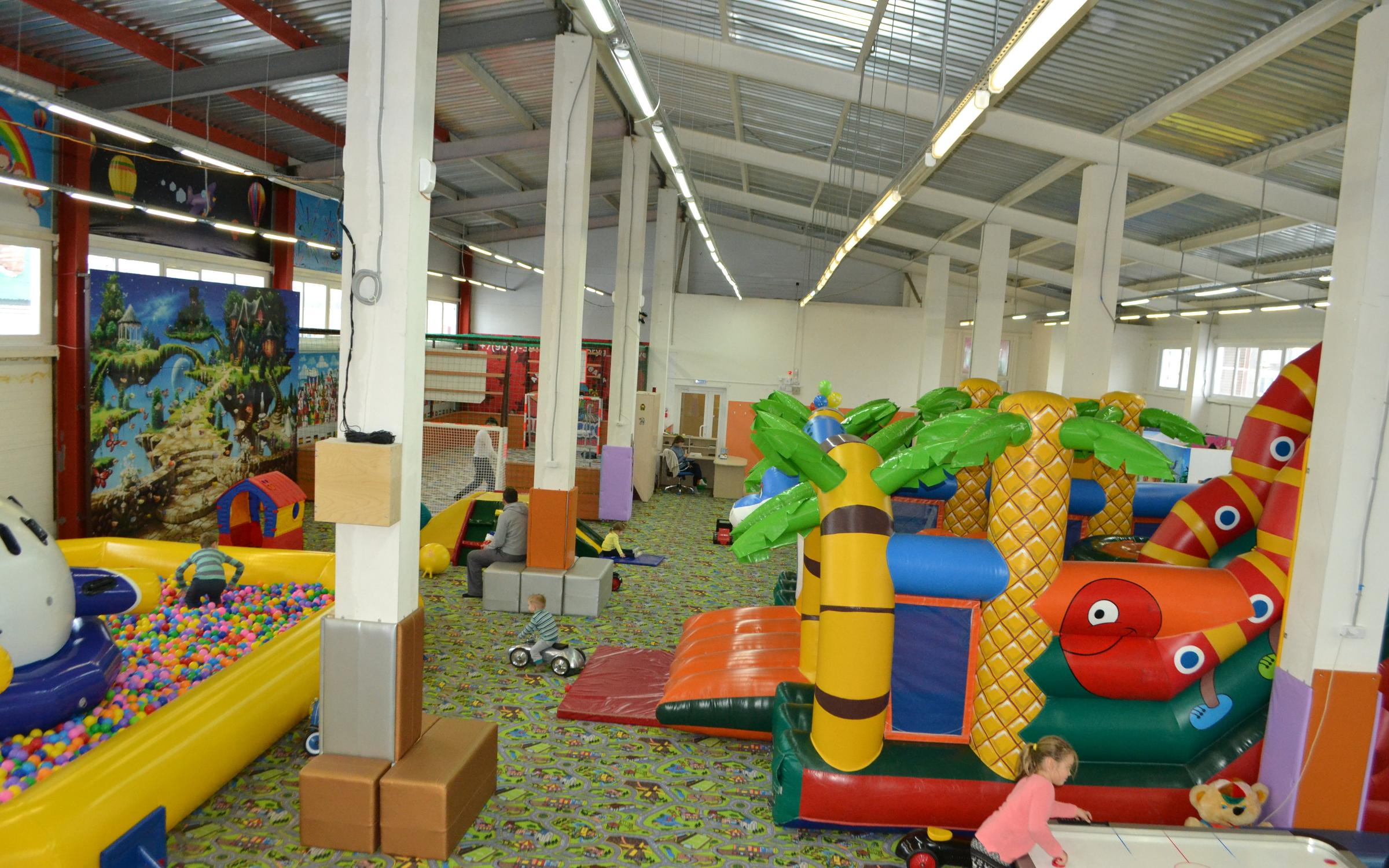 фотография Детского игрового городка Прыг-Скок в Засвияжском районе