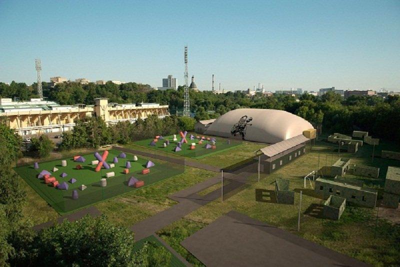 фотография Пейнтбольный дворец Арена на метро Автозаводская