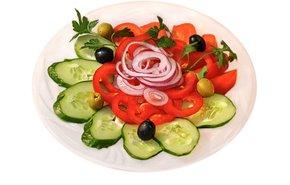 фотография Ассорти свежих овощей