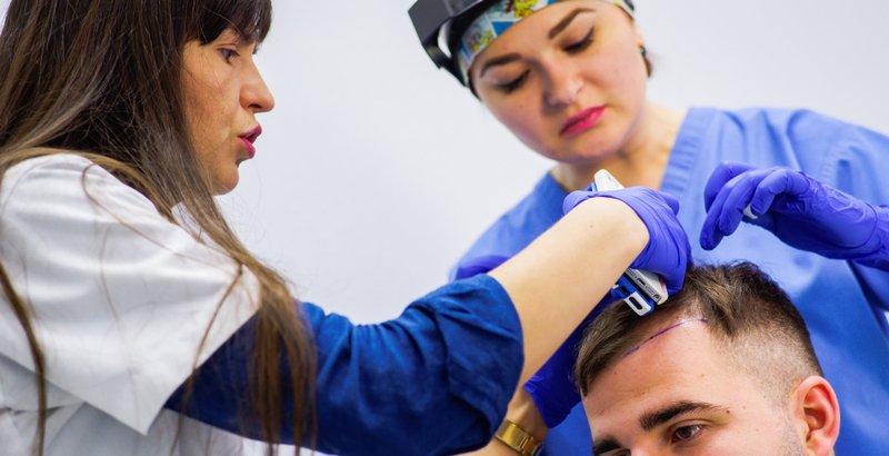 Маска для гладкости волос с глицерином