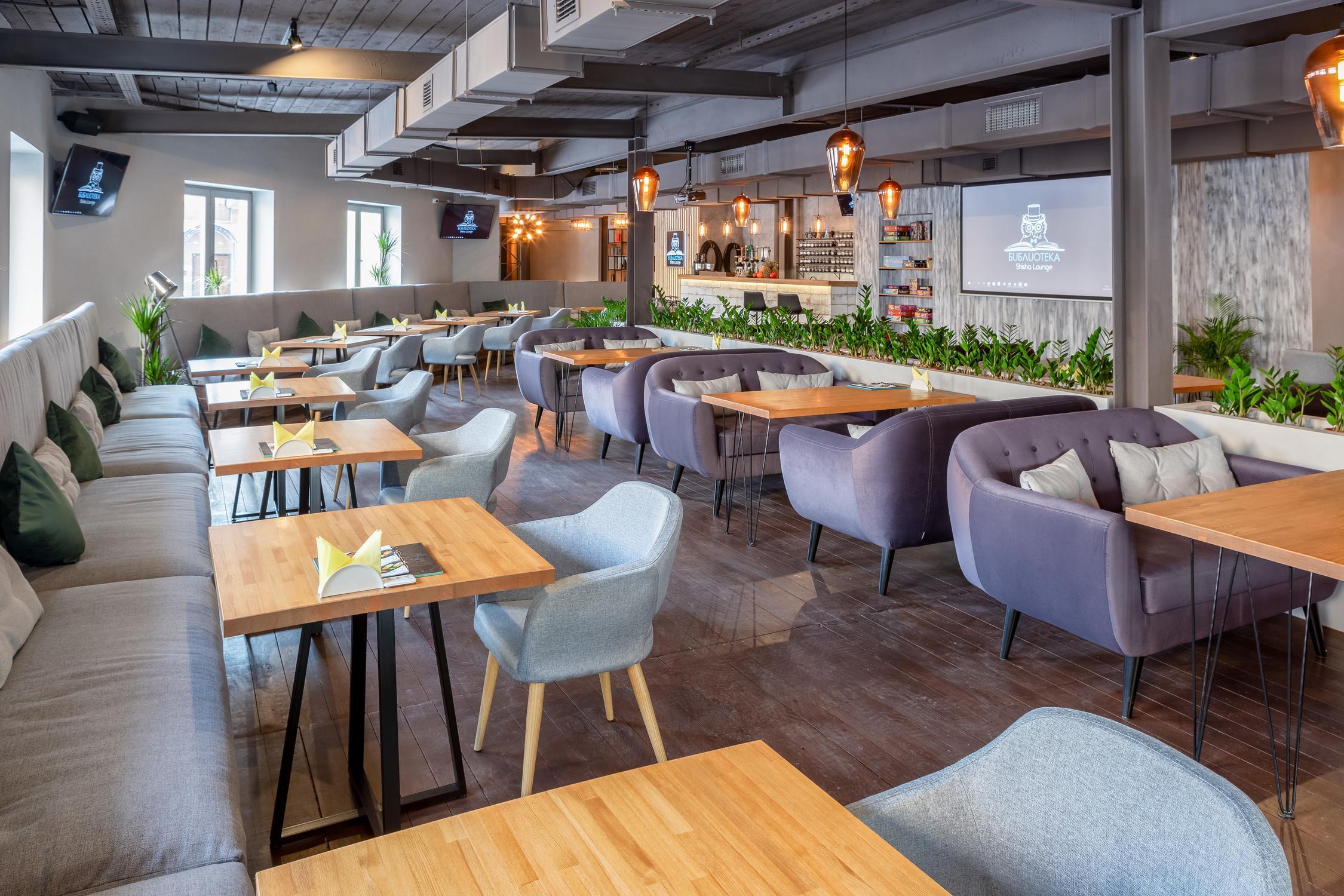 фотография Кальянная лаундж-кафе БИБЛИОТЕКА Shisha Lounge на улице Маросейка