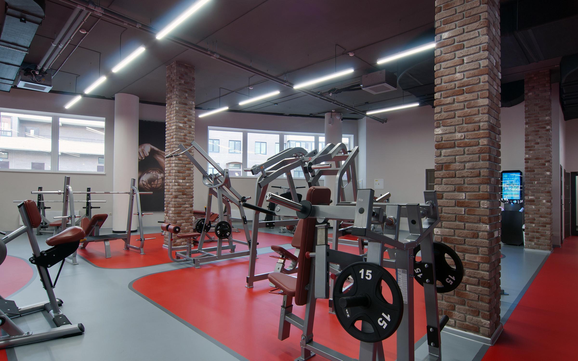 фотография Фитнес-клуба World Gym на Парковой улице в Красногорске