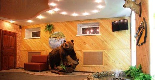 фотография Гостинично-оздоровительного комплекса У Медведя на Дачной