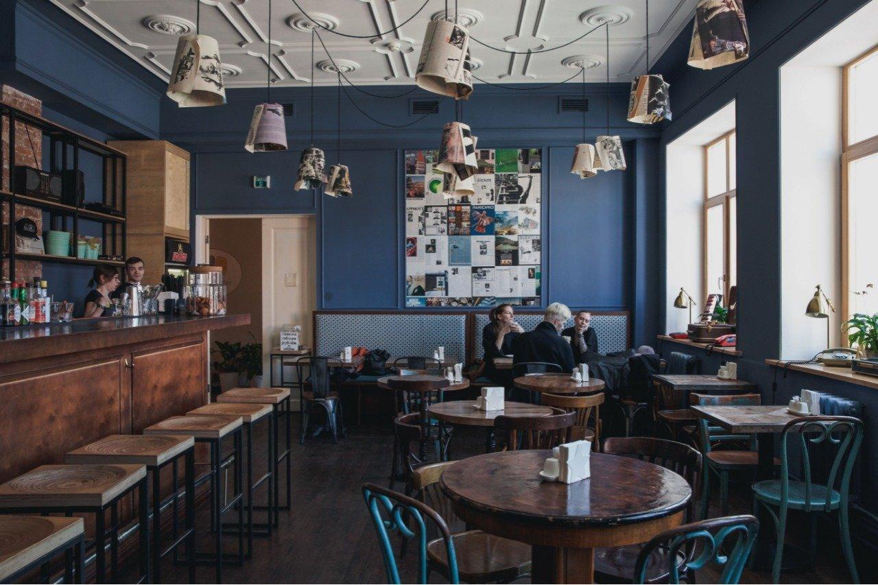 фотография Кафе-бара Хитрые люди в 4-м Сыромятническом переулке