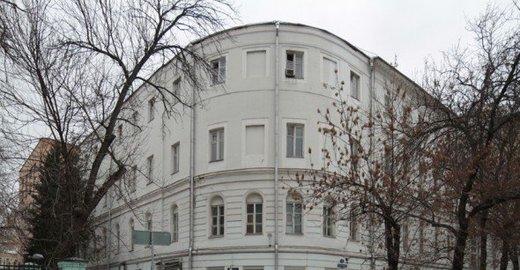 Мамоновский переулок д 7 строение 1 на карте